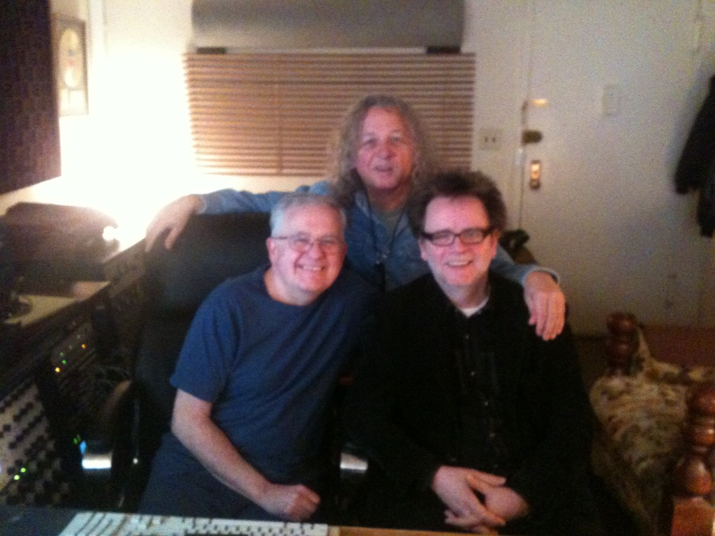 With Samuel St. Thomas and Gene Paul, Les Paul's son
